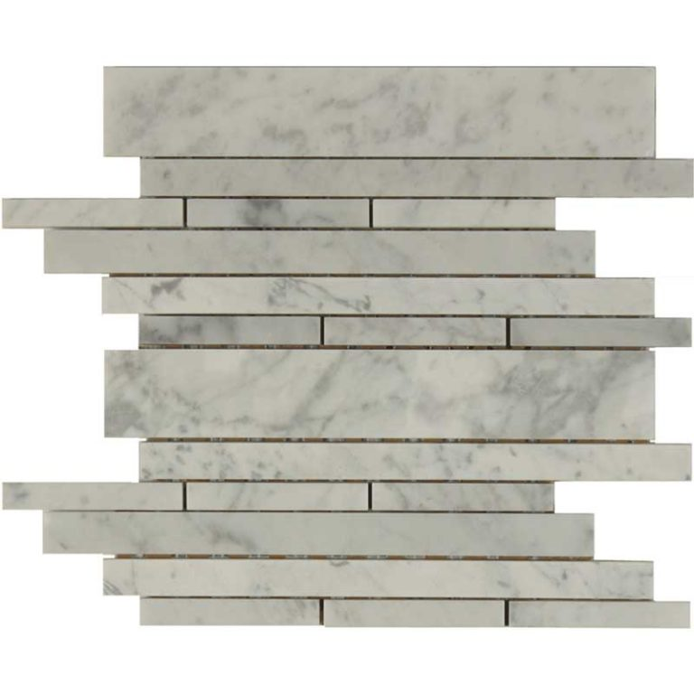 Waterfall - Bianco Carrara Honed
