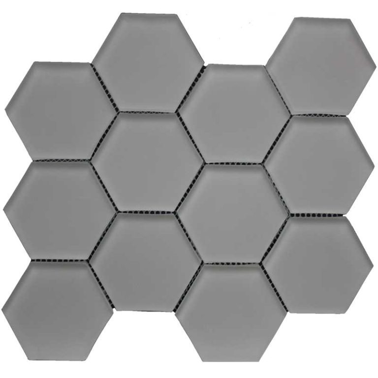 Hexagon 3 in x 3 in- Doe Skin Matte