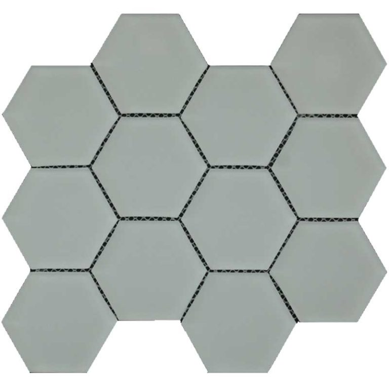 Hexagon 3 in x 3 in- Alabastro Matte