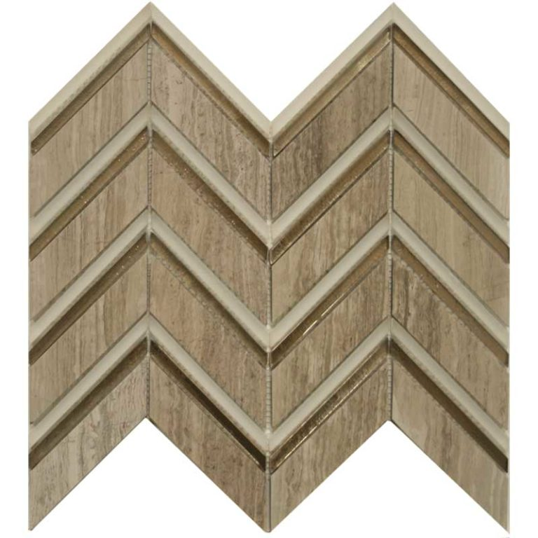 Chevron - Graystone/Bronze/Cloud Blend