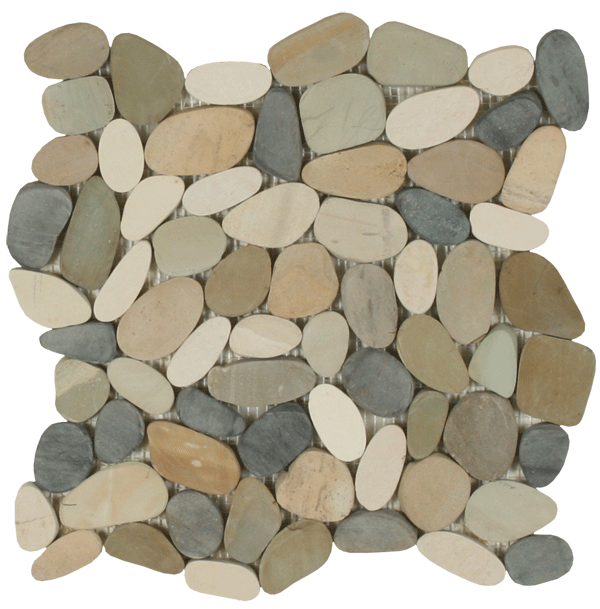 Sliced Pebbles - Botany Bay Blend
