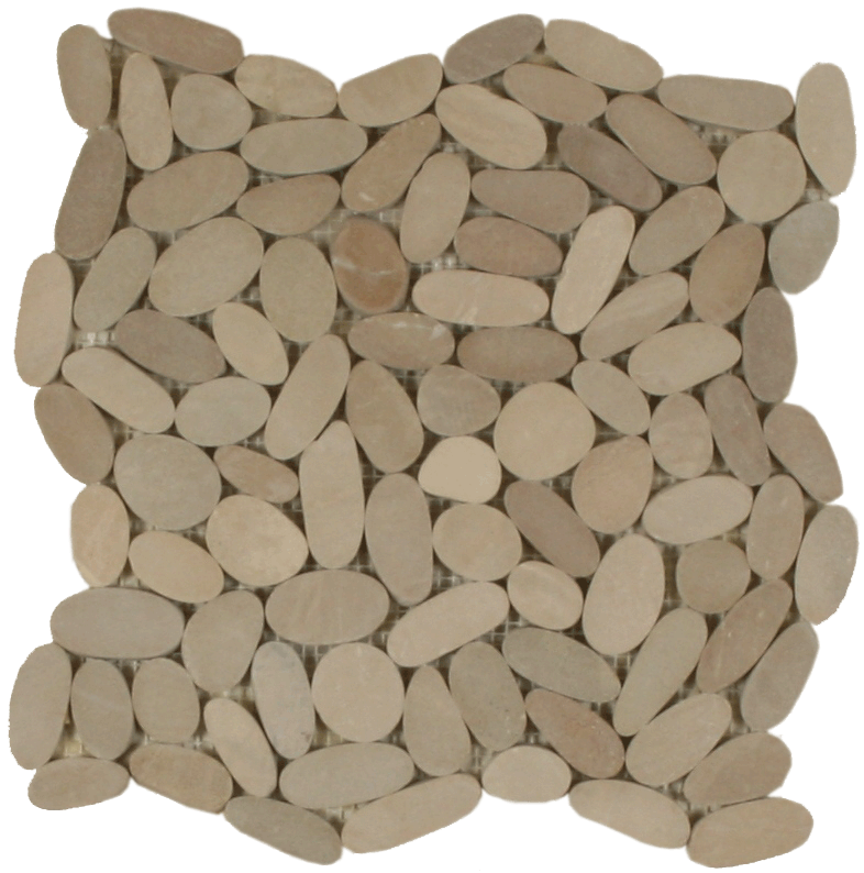 Sliced Pebbles - Khaki
