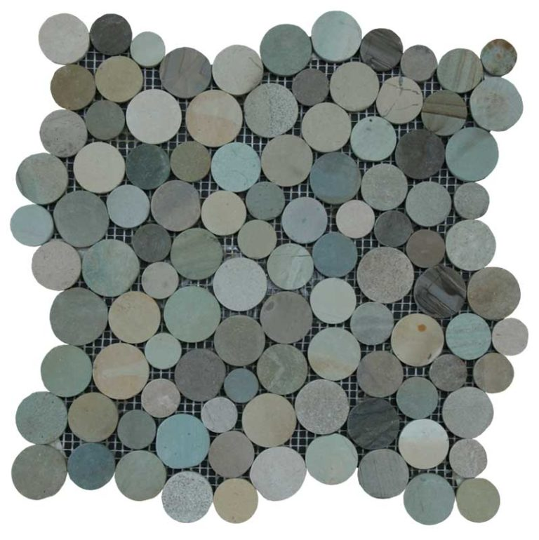 Coin Pebbles - Olive