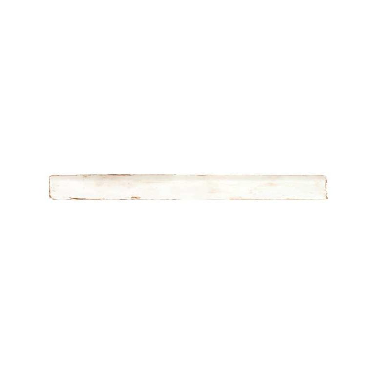 Glazed Habitat Ceramic - Parchment -1 in x 12 in