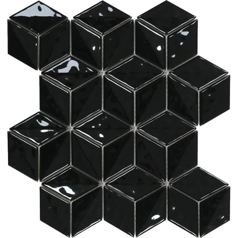 3D Cube - Black Magic